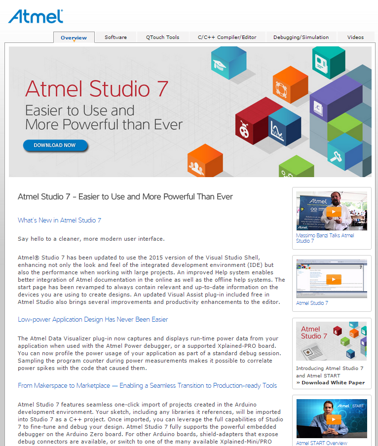 Atmel Studio 7 New